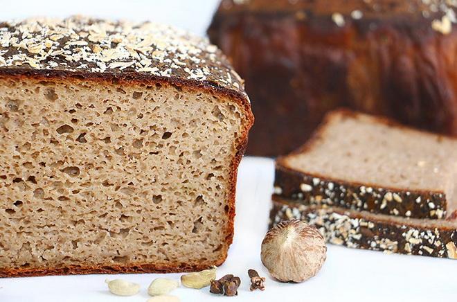 Хлеб на закваске без глютена
