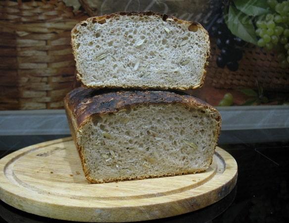 семечковый хлеб