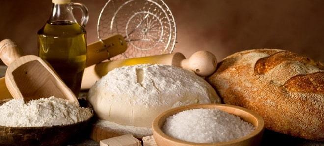 цельнозерновой хлеб в духовке