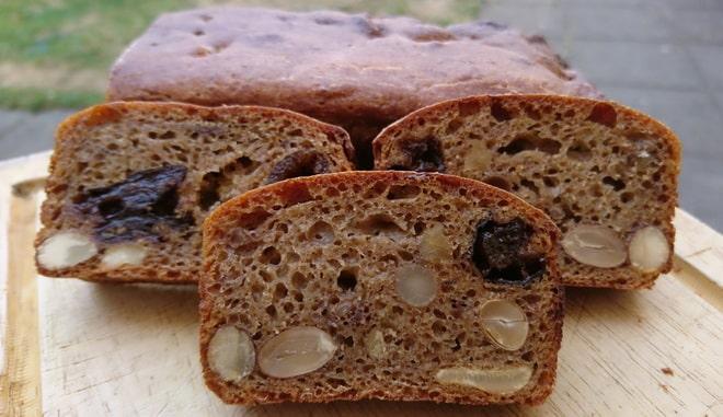 Фруктово-ореховый хлеб