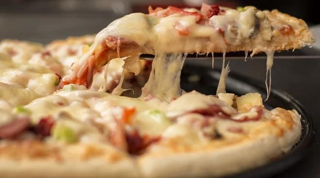 пицца с начинкой
